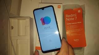 . Xiaomi Redmi Note 7. Розпакування смартфона 3=32Gb, колір Black Space. 20190806 203748