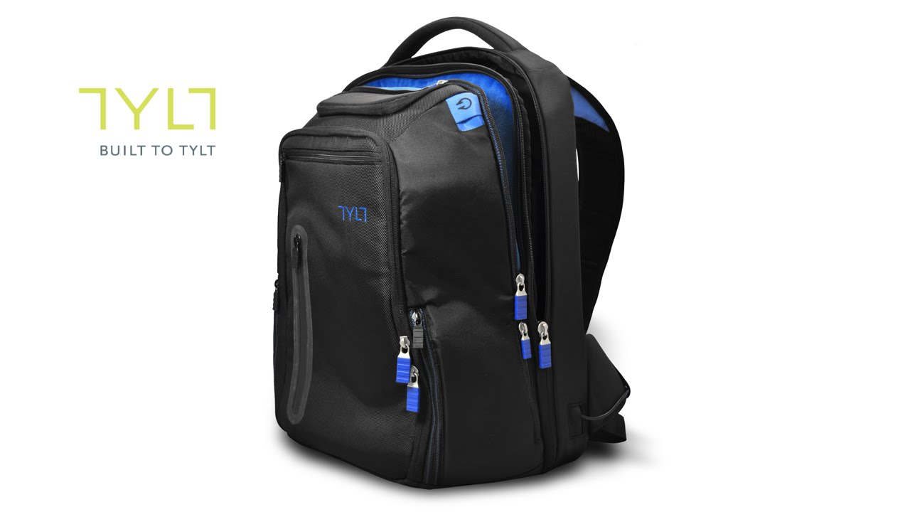 Tylt Energi Backpack Review - YouTube 369269f411198