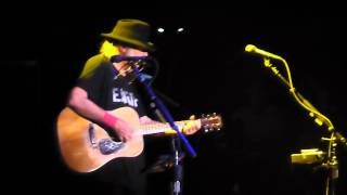 Neil Young Heart Of Gold live Echo Arena Liverpool 13 July 2014 069