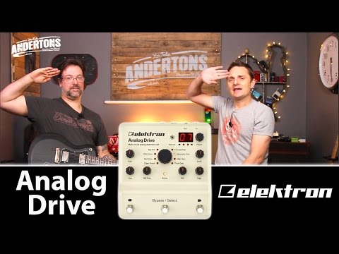 Elektron Analog Drive - 8 Drive Pedals in One!