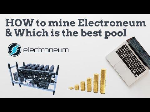 best electroneum mining pool