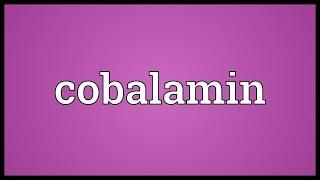 Cobalamin Meaning
