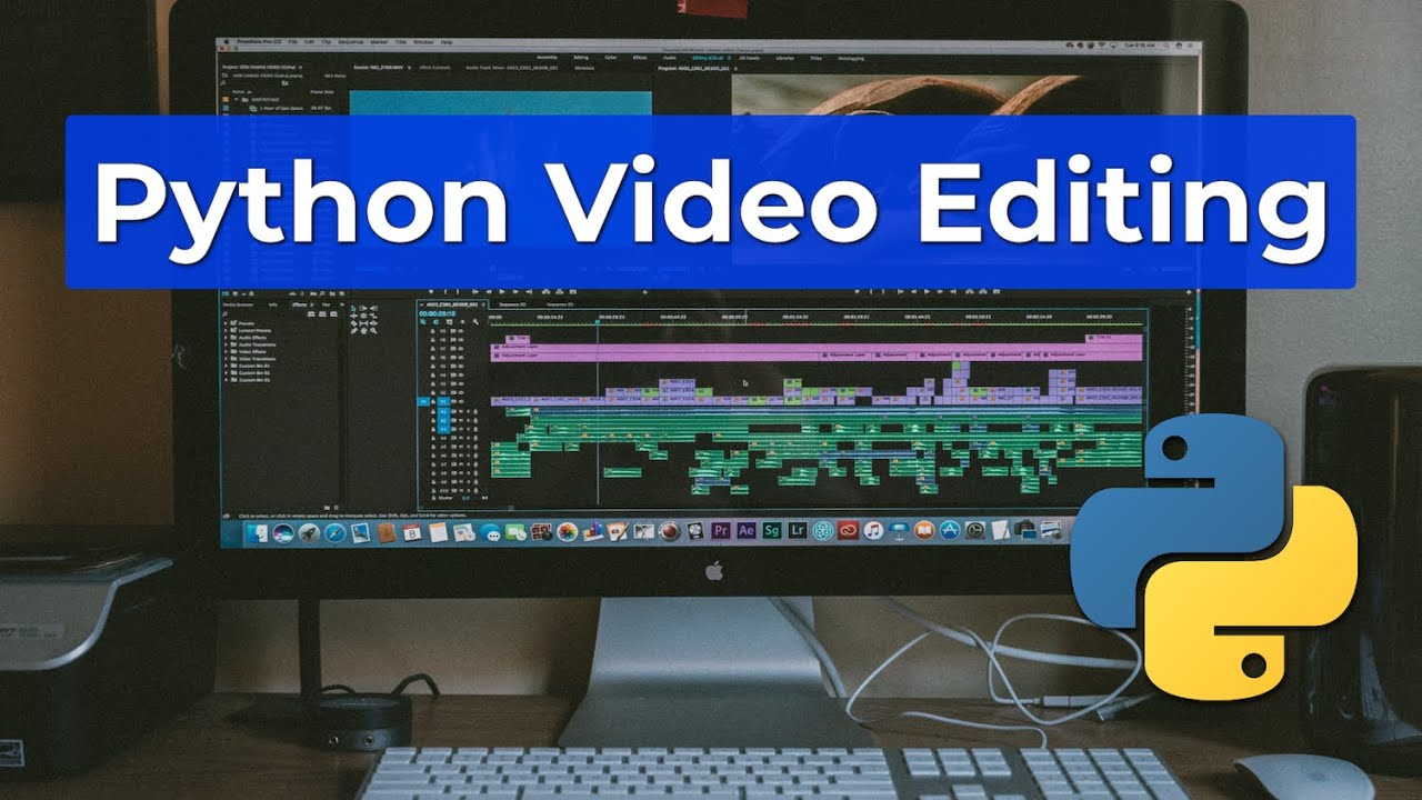 How I Edit My Videos with Python - Python Task Automation