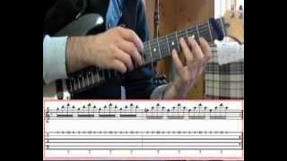 Highway Star Organ Solo w/Guitar - Video Tutorial