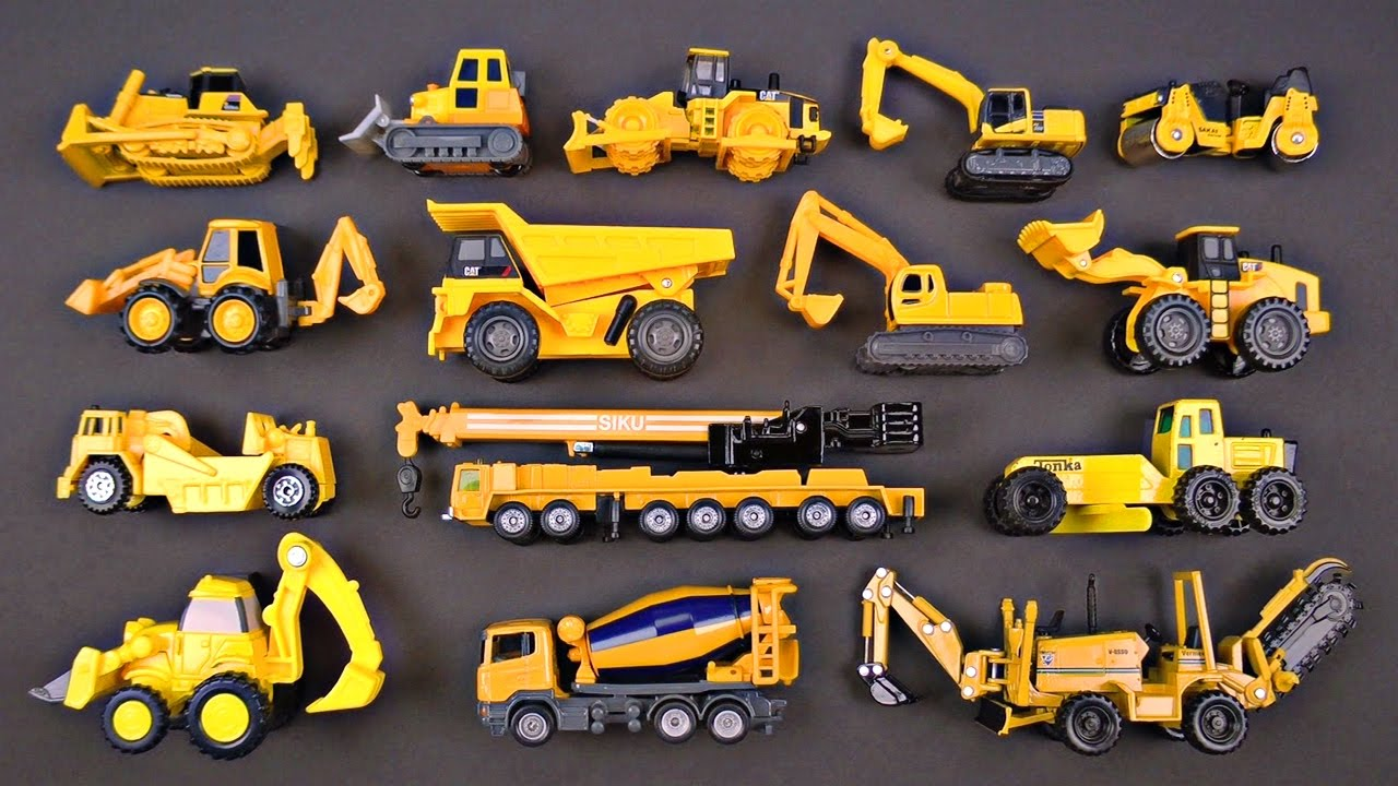 Construction Vehicles For Kids 1 Best Bulldozers Dump