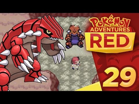 Pokemon Adventures: Red Chapter - Part 29 - Climb for Groudon!