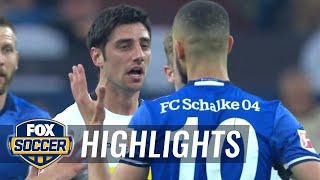FC Schalke 04 vs. Monchengladbach | 2017-18 Bundesliga Highlights