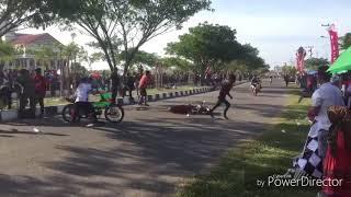 Terbaru 2018 kecelakaan maut road race /balap motor