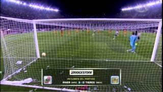 Copa Bridgestone Libertadores: River Plate (3) vs Tigres (0)