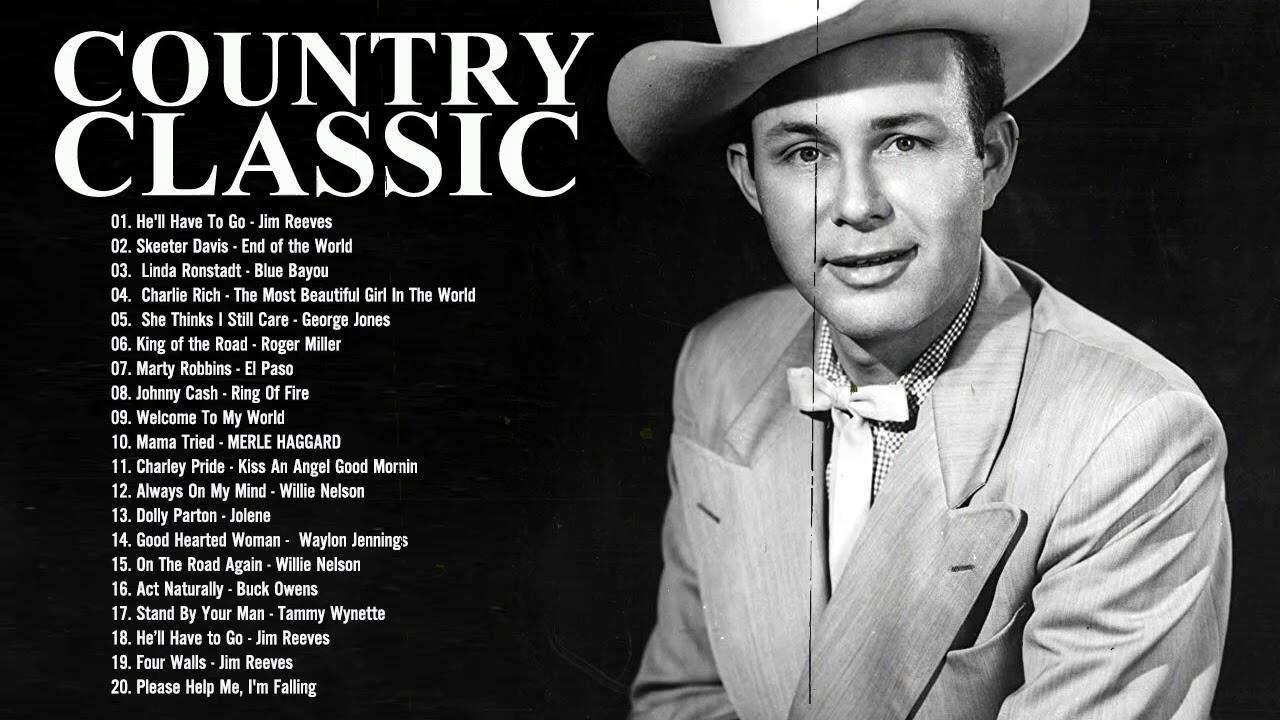 Golden Classic Country Songs - Alan Jackson, Jim Reeves, Garth Brooks, Kenny ROgers, Elvis Presley