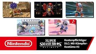 Super Smash Bros. Ultimate – Mii-Kämpfer-Kostüme 3 (Nintendo Switch)