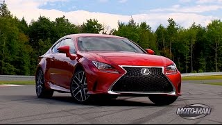 2015 Lexus RC 350 F Sport – FIRST DRIVE on Road & TRACK!