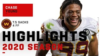 Chase Young Full Rookie Season Highlights | NFL 2020