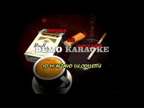 A sigaretta Mario Gualtieri Karaoke