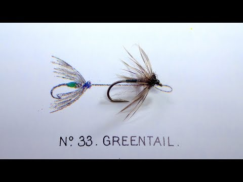 Tying The Greentail (Soft Hackle/Wet Fly) With Davie McPhail