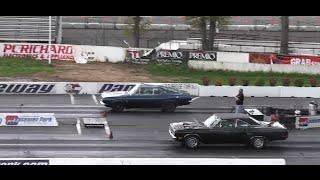 1969 383 BARRACUDA vs 1970 440 GTX