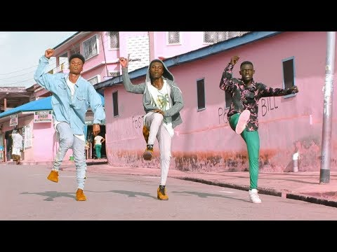 SHATTA WALE ALLO FT KWAW KESE DANCE VIDEO BY YKD yewo krom dancers