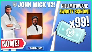 NEW JOHNNY WICK 2.0! NO LIMITED RETURN OF SKINS COMING SOON! (Fortnite Battle Royale)