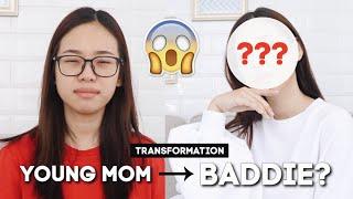 YOUNG MOM TRANSFORMS INTO BADDIE / ABG   FOREO UFO REVIEW BAHASA