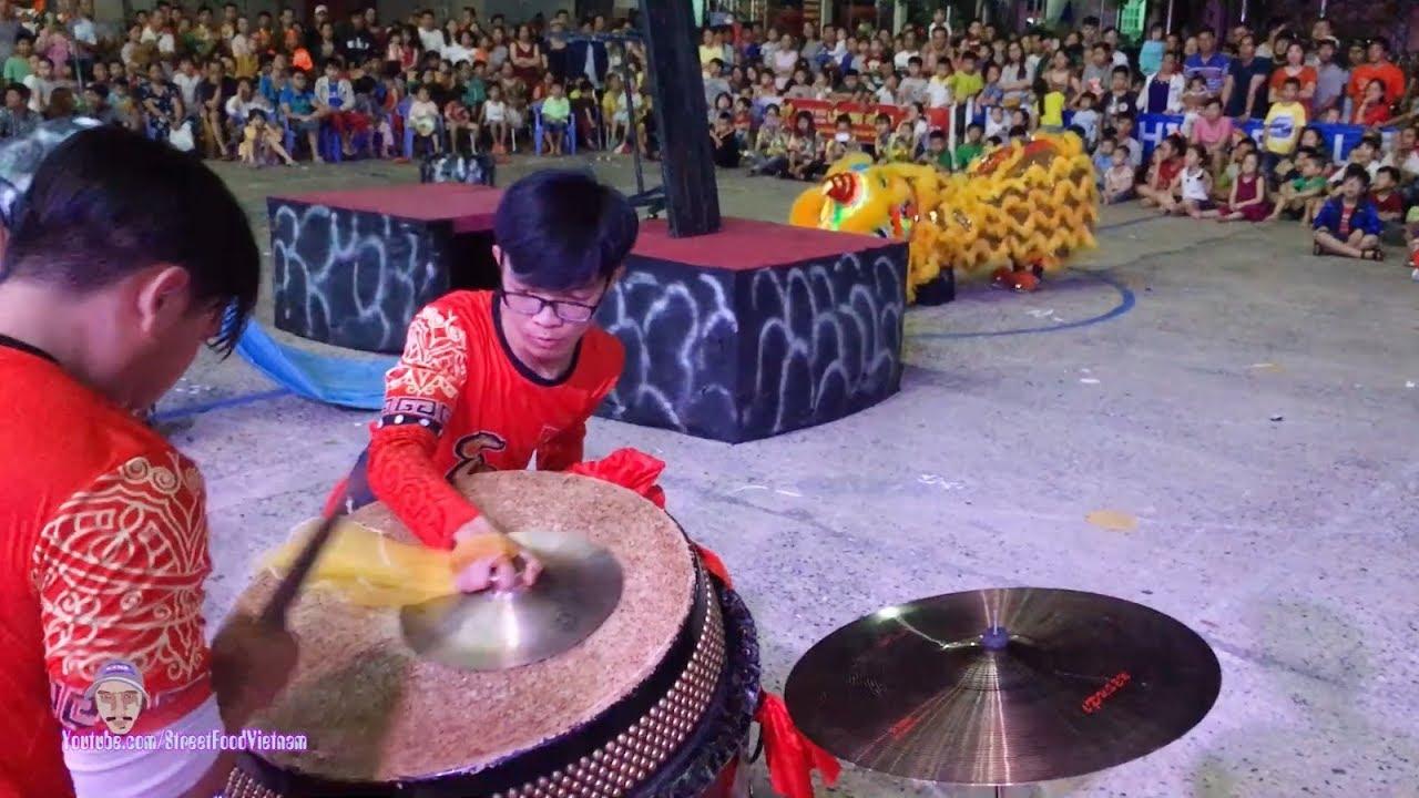 Đánh Trống Múa Lân Hay 2019 – Lion Dance Drumming Vietnam
