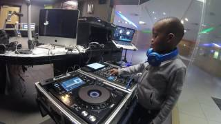 DJ ARCH JNR Live on Metro fm - Youth Day Mix 2017 (5yrs Old) Worlds Youngest DJ