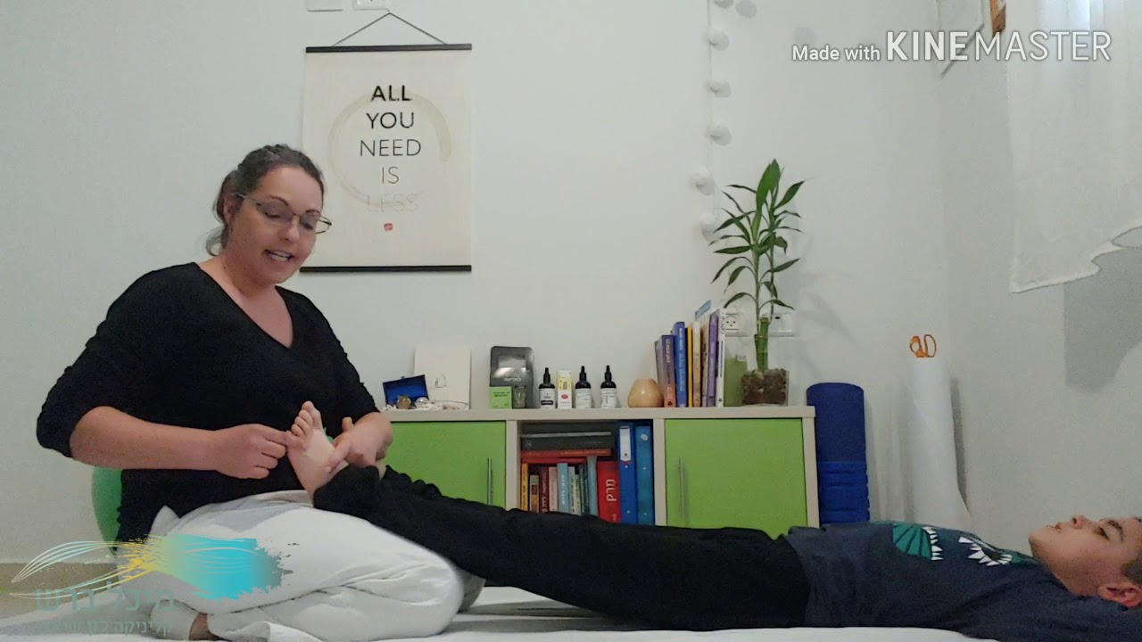 שיאצו הורים וילדים- בואו נתרגל יחד (: חלק ג' - כפות הרגליים