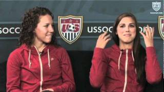 Studio 90 Extra Time: Lauren Cheney and Alex Morgan, Pt. 2