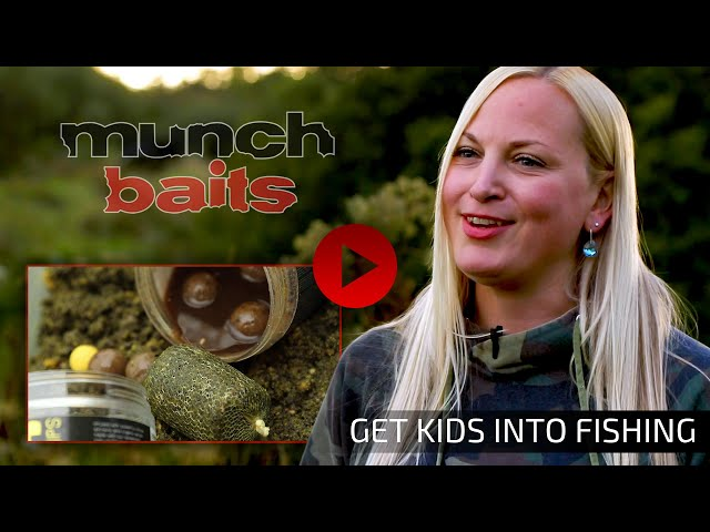 GET KIDS INTO FISHING