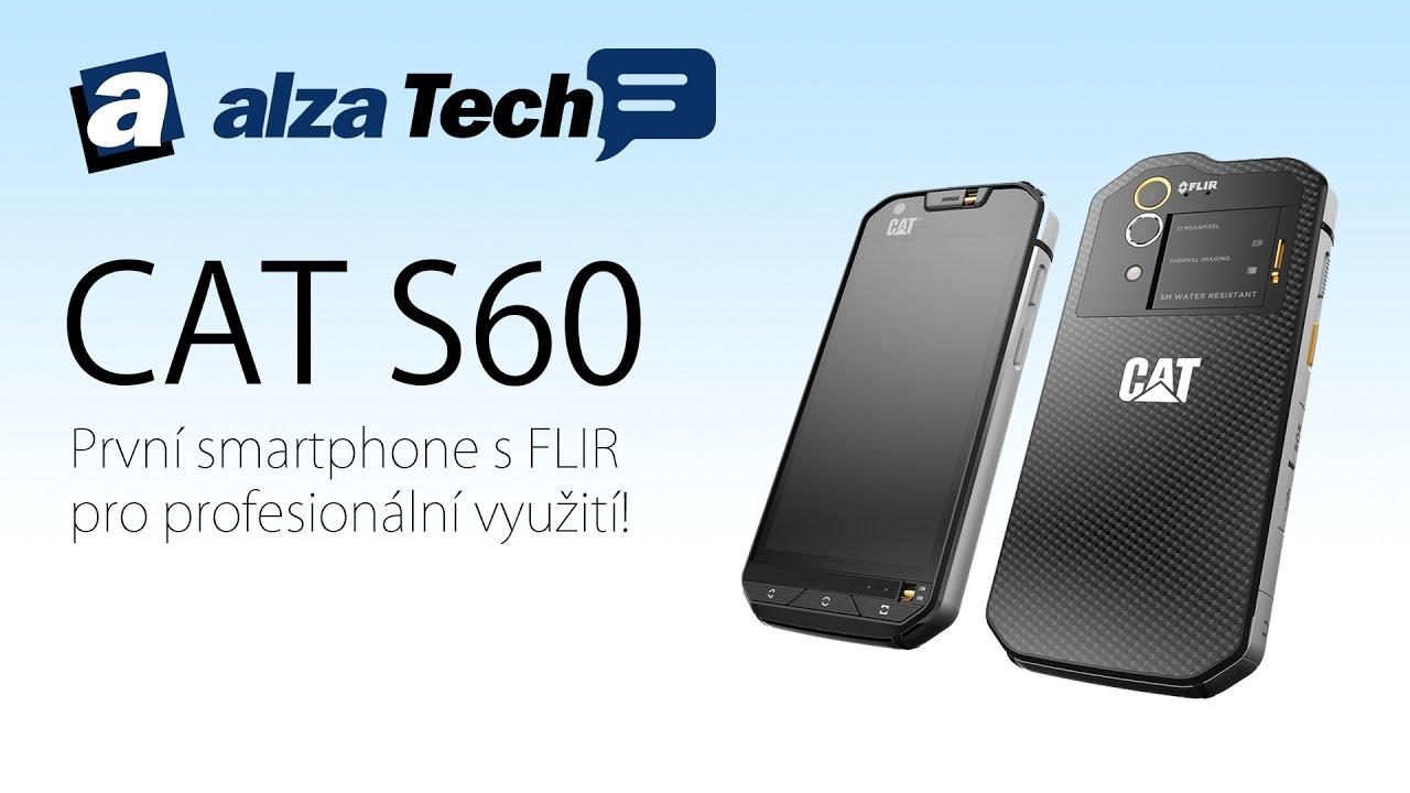 Caterpillar CAT S60: První smartphone s FLIR pro ...
