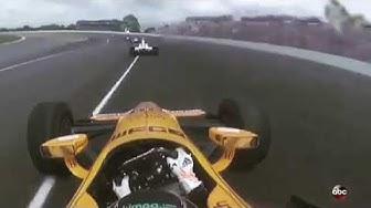 Fernando Alonso in seinem IndyCar   Fernando Alonso   Indy 500   Englische Funksprüche