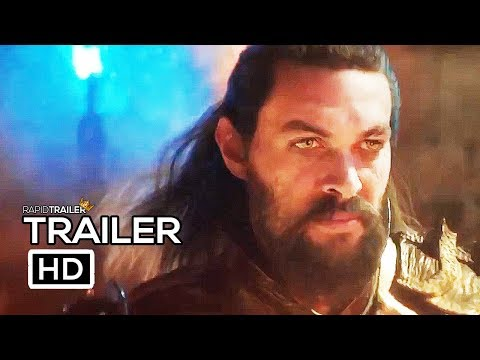 AQUAMAN Trailer #2 NEW (2018) Jason Momoa, Amber Heard DC Superhero Movie HD