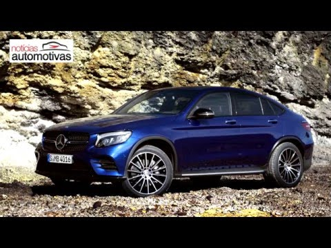 VÍDEO: Mercedes-Benz GLC Coupé 2017