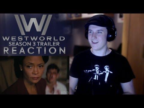 WESTWORLD SEASON 3 SDCC TRAILER REACTION   Comic Con Trailer Reaction