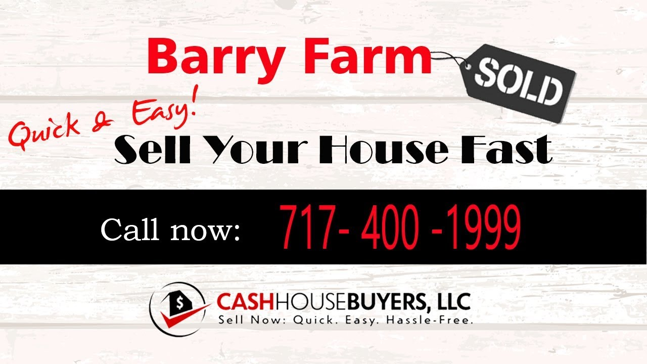 HOW IT WORKS We Buy Houses  Barry Farm Washington DC   CALL 717 400 1999   Sell Your House Fast