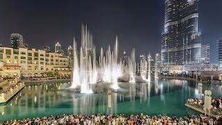 Dubai New Year's firework 2016 in burj khalifa SHOW