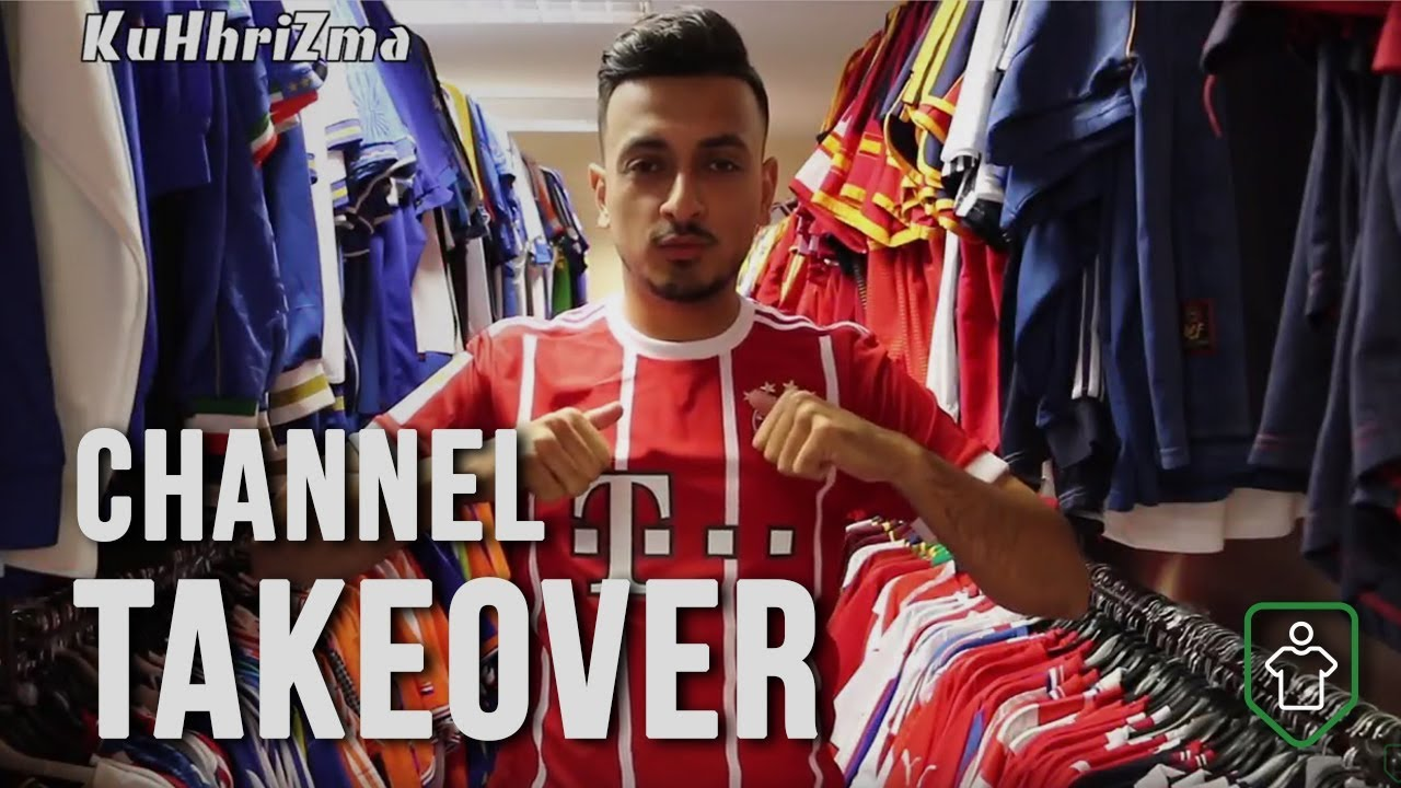 Channel Takeover  A Day at Classic Football Shirts - YouTube cf9beacef