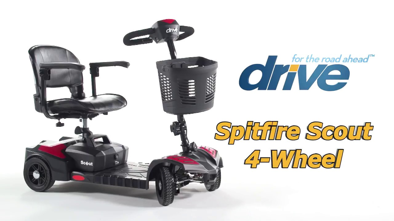 Drive Medical Scout 4 Wheel Scooter
