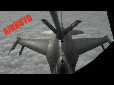 Aviano Vipers Refueling Over Italy