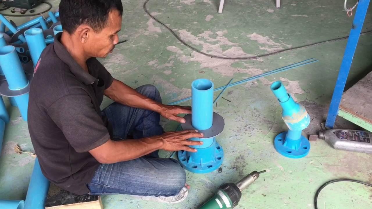การเชื่อมท่อ Pvc โดยใช้เครื่องเป่าความร้อน T 02 3864067