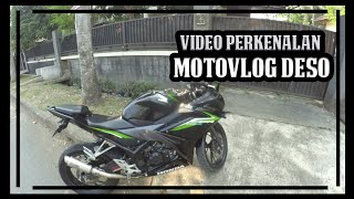Video Perkenalan Motovlog Deso Yang Semoga Rejeki Kuto | Yi Action Cam | All New Honda Cbr150r