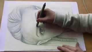 Elf Self Portrait Speed Drawing