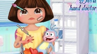 Dora The Explorer | Heal Dora Hand Doctor  | Doctor Games