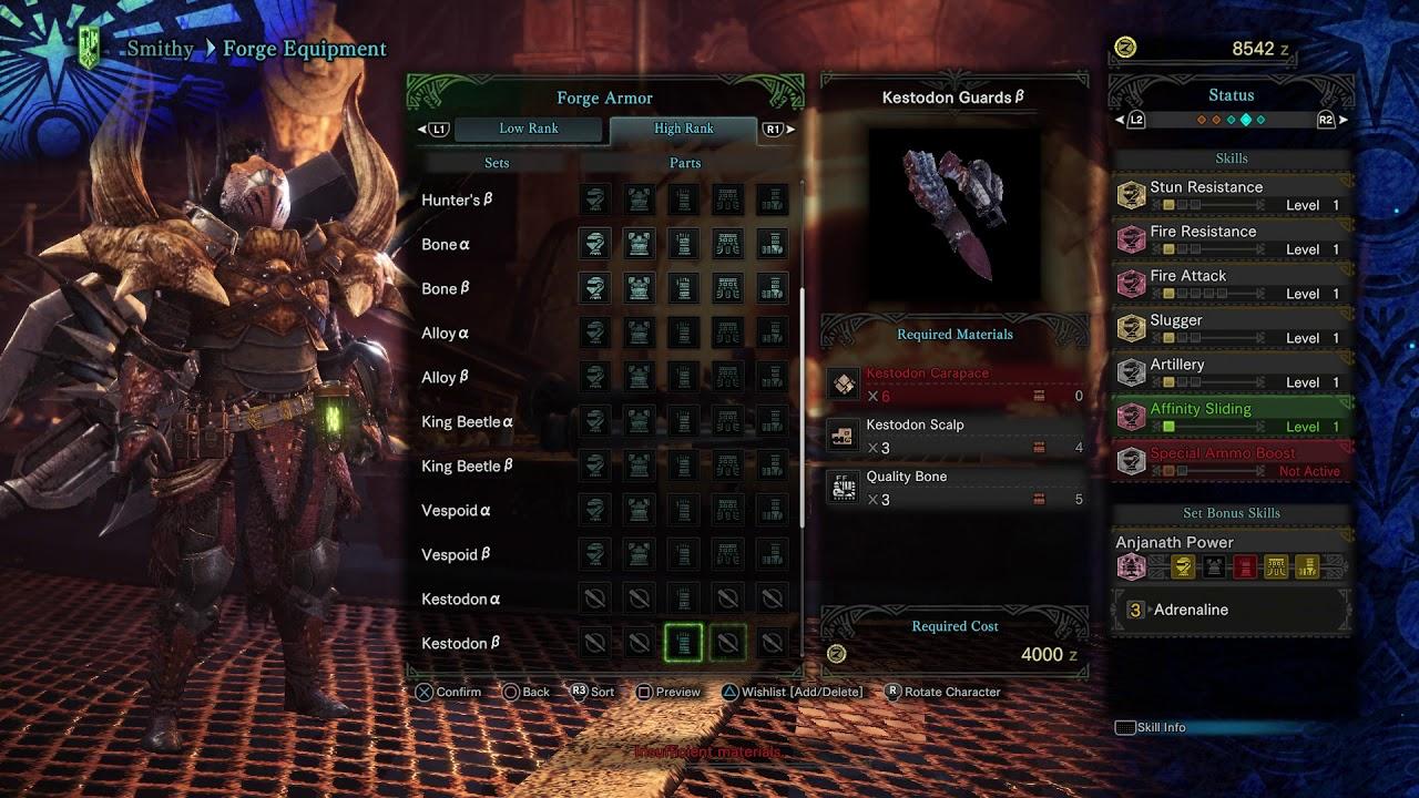 Guard Jewel Monster Hunter World