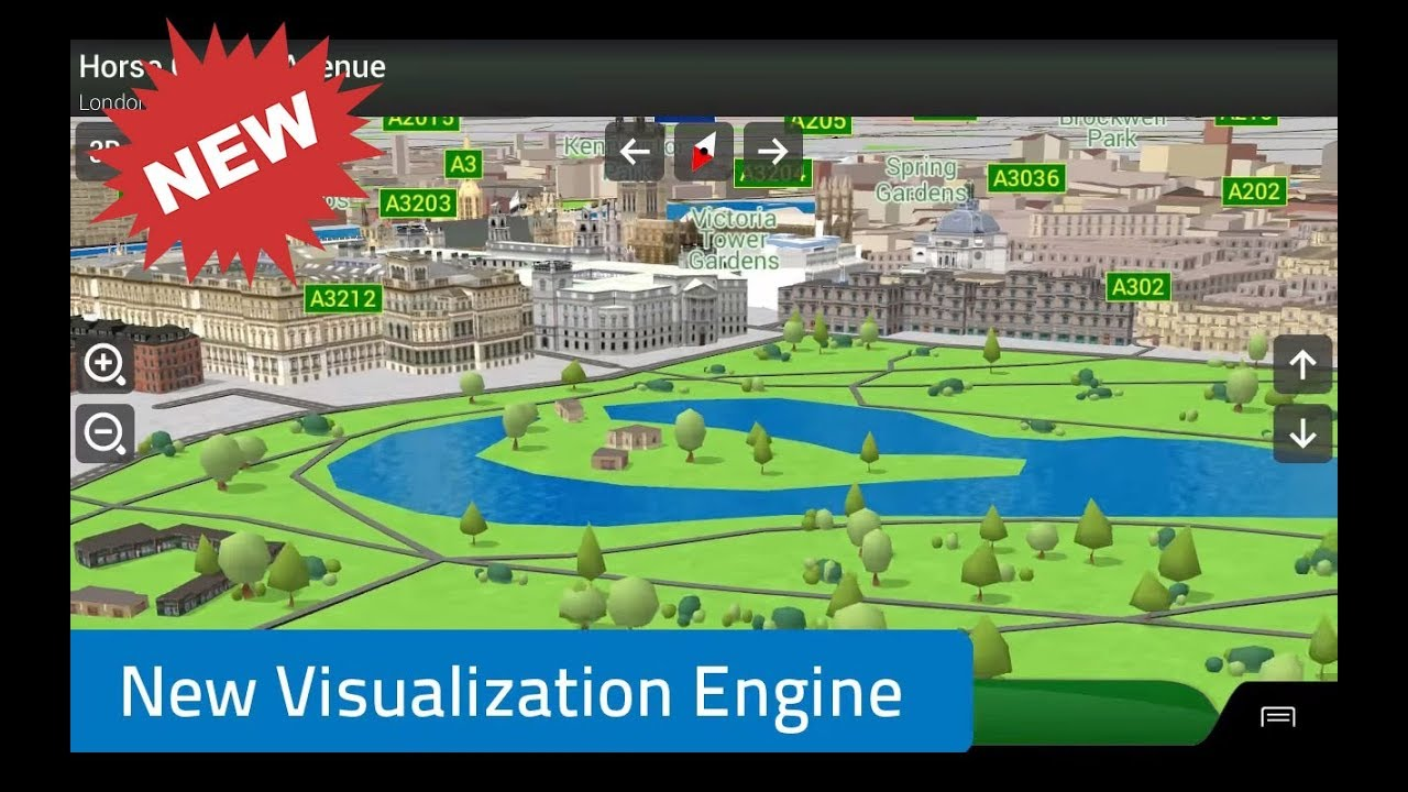 New iGO Visualization Engine it's really fantastic!!!