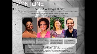 Behind the Frontline: Live Q&A