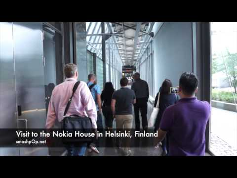 Visit to Nokia House in Helsinki, Finland