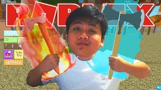 THIS IS THE GREATEST WOODEN LUMBERJACK!! -Roblox Indonesia