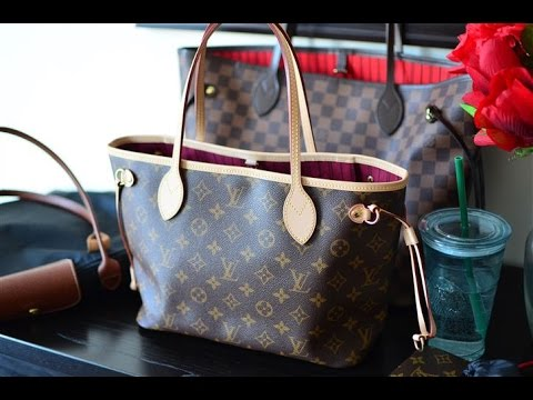 fbd214b82838 Louis Vuitton Neverfull PM Bag Review (Small Comparison with the MM ...