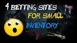 Best Betting Sites for Smaller Inventories! (CSGO)