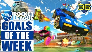 Rocket League - TOP 10 GOALS OF THE WEEK #36 (Rocket League Best Goals)